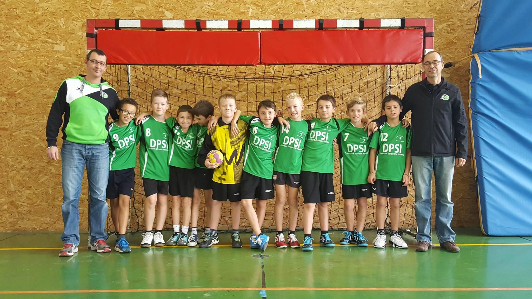 Les -12G apprennent et progressent - Hand Bievre Terres Froides - Club de Handball en Isère