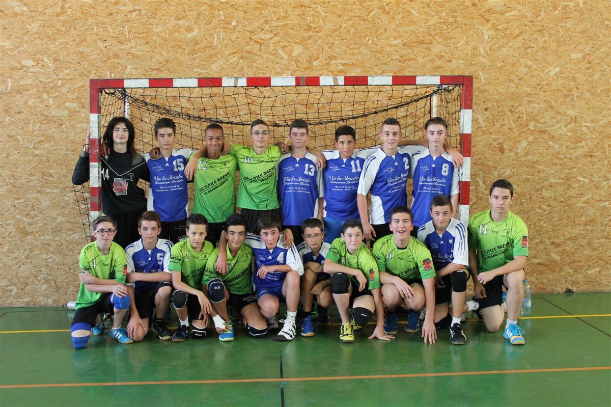 Victoire de l'entente Bièvre Chirens contre Morestel - Hand Bievre Terres Froides - Club de Handball en Isère
