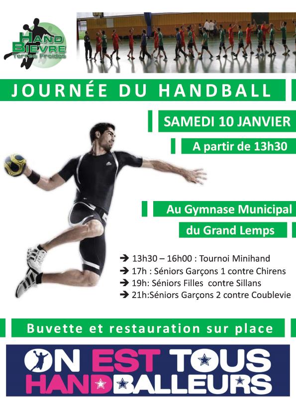 Fête du Handball 2015 - Hand Bievre Terres Froides - Club de Handball en Isère