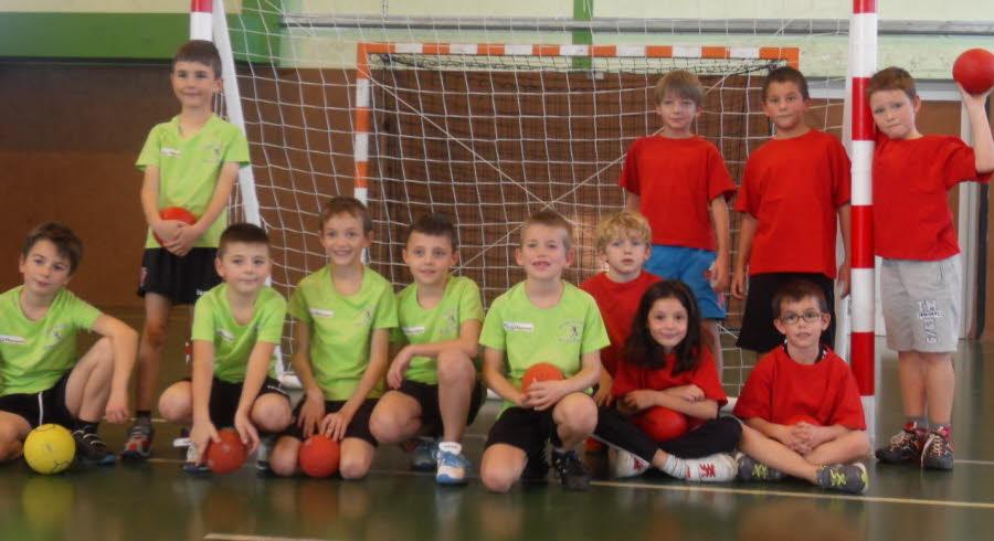 Le Mini Hand débute bien la saison - Hand Bievre Terres Froides - Club de Handball en Isère