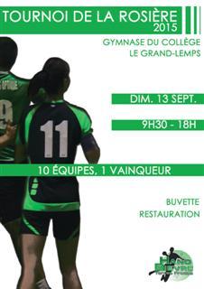 Tournoi de La Rosière - Hand Bievre Terres Froides - Club de Handball en Isère