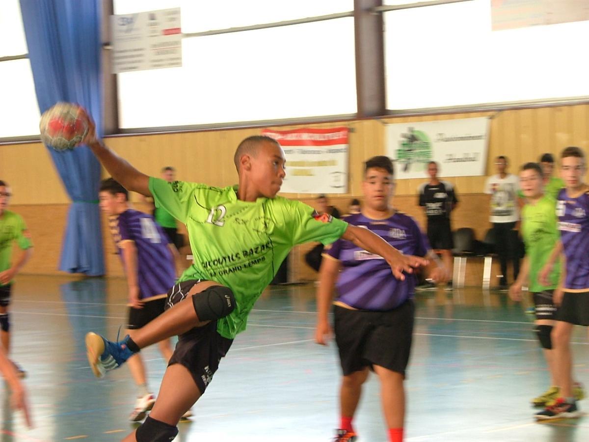 Les photos du challenge des espoirs - Hand Bievre Terres Froides - Club de Handball en Isère