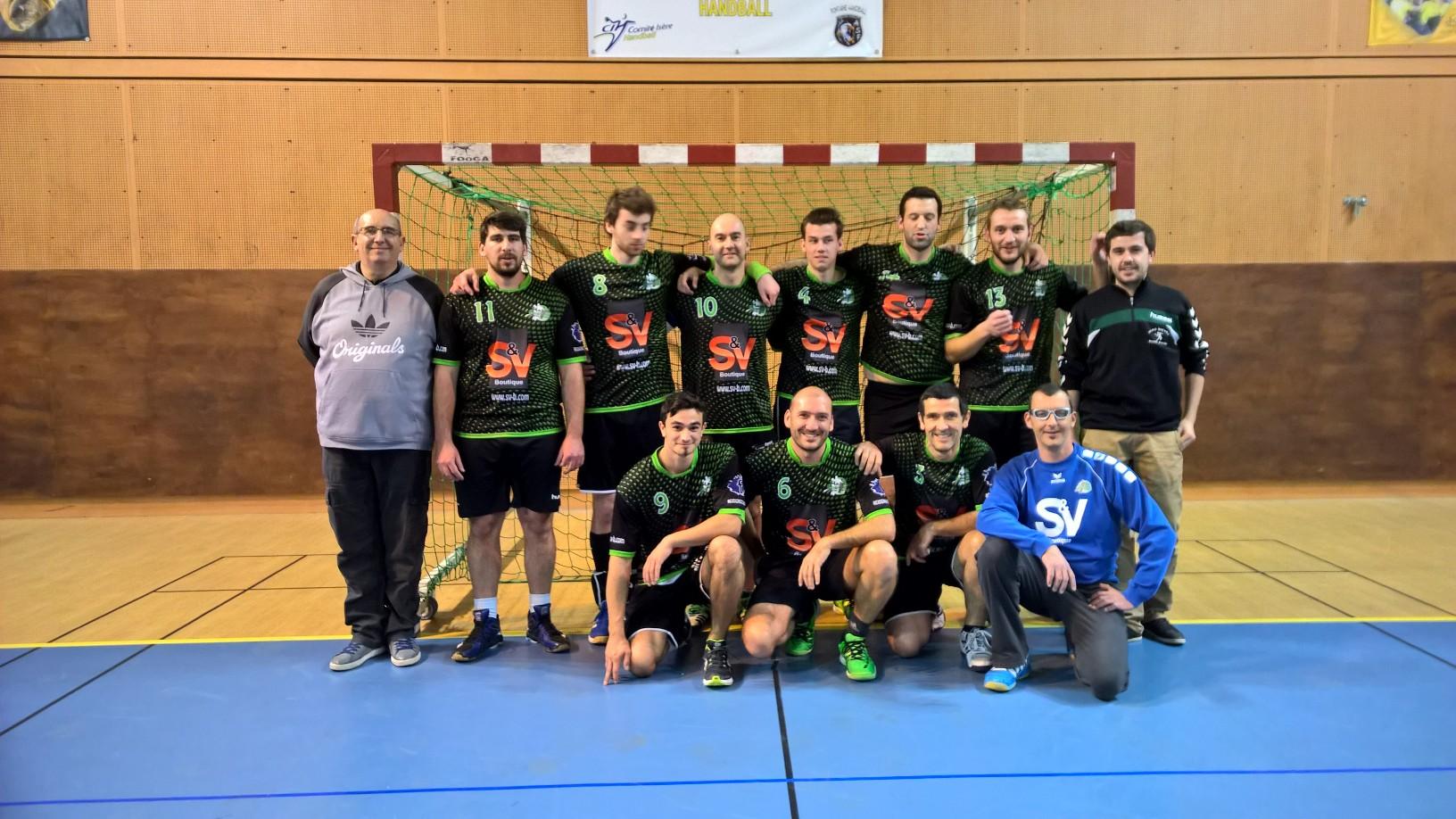 Il ne leur a pas manqué grand chose pour gagner.... - Hand Bievre Terres Froides - Club de Handball en Isère
