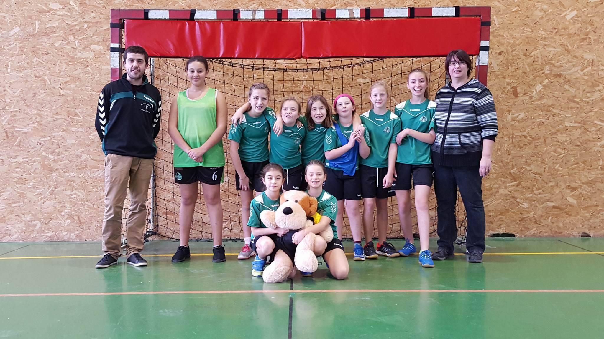 Les -12 Filles s'inclinent face à Beaurepaire - Hand Bievre Terres Froides - Club de Handball en Isère