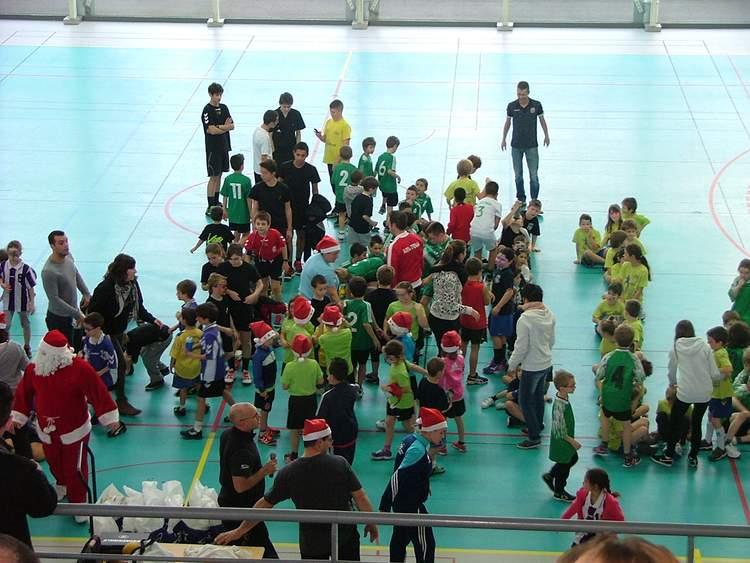 Tournoi de Noël Mini Hand - Hand Bievre Terres Froides - Club de Handball en Isère