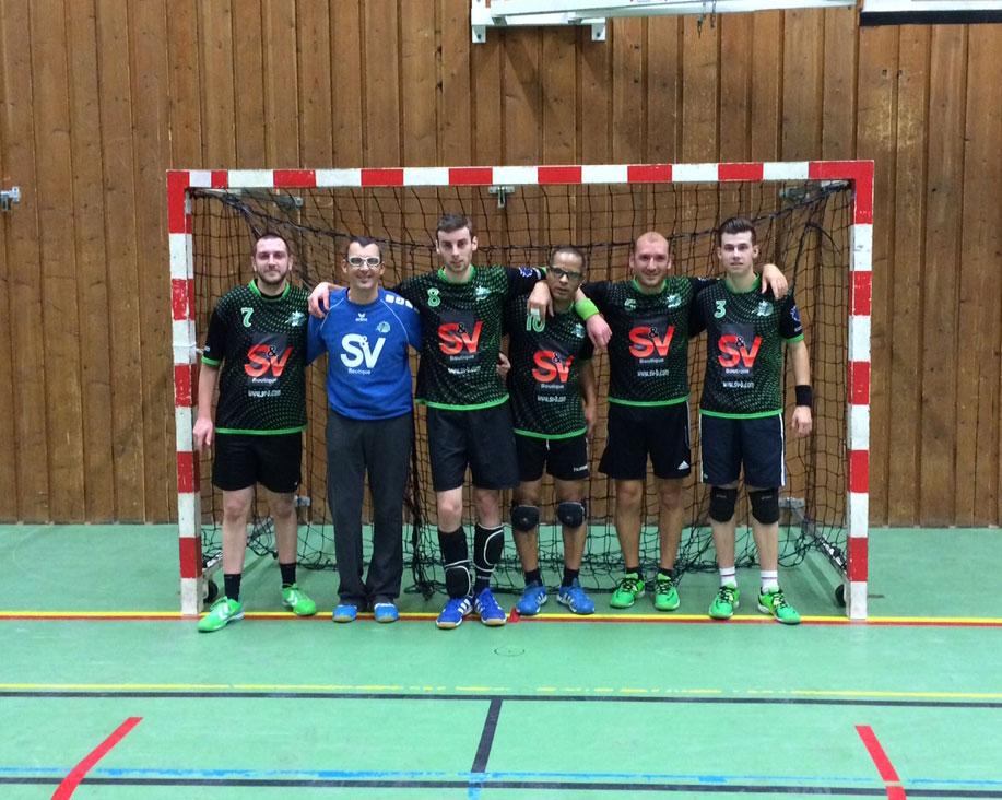 Une équipe réserve vaillante... mais dominée - Hand Bievre Terres Froides - Club de Handball en Isère