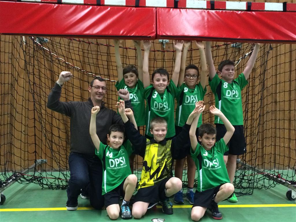Les -12G gagnent avec la manière ! - Hand Bievre Terres Froides - Club de Handball en Isère