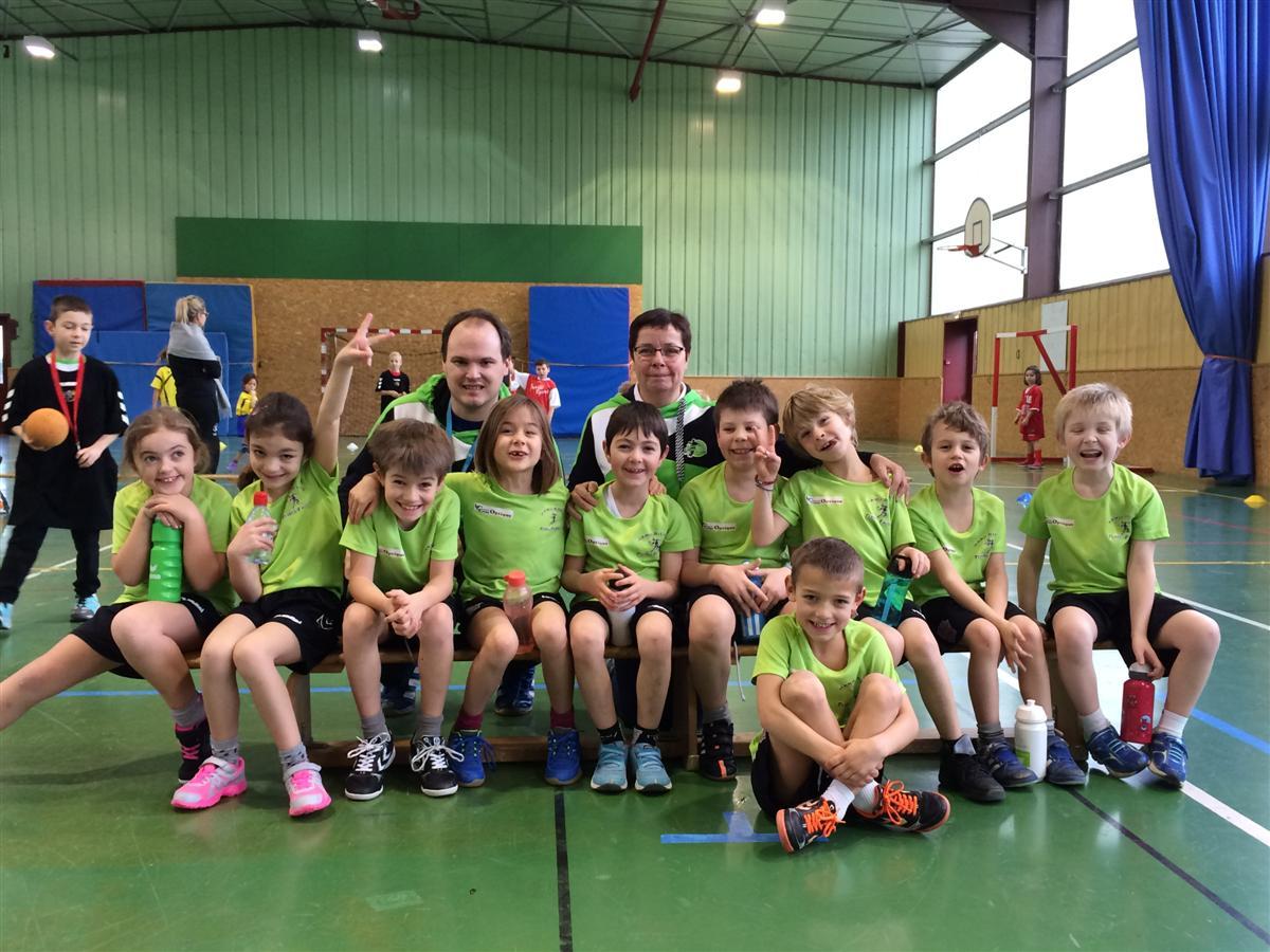Le tournoi des mini hand 1er pas - Hand Bievre Terres Froides - Club de Handball en Isère