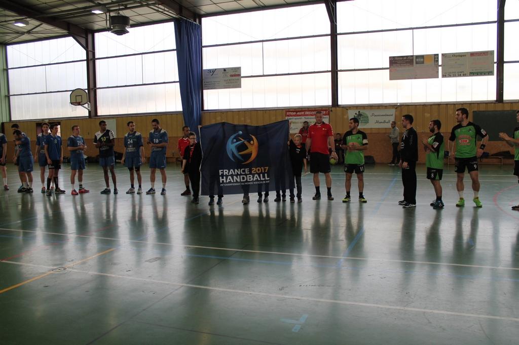 Victoire de l'équipe Fanion contre Voiron - Hand Bievre Terres Froides - Club de Handball en Isère