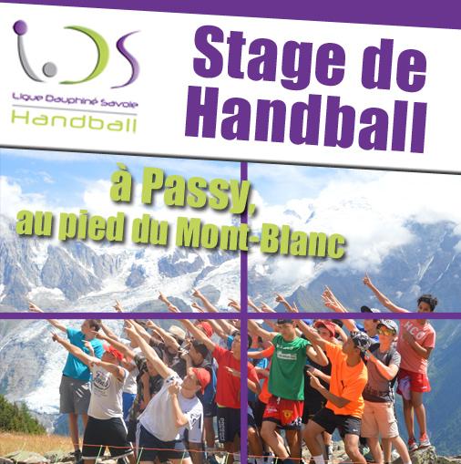 11ème édition du stage d'été à Passy - Hand Bievre Terres Froides - Club de Handball en Isère