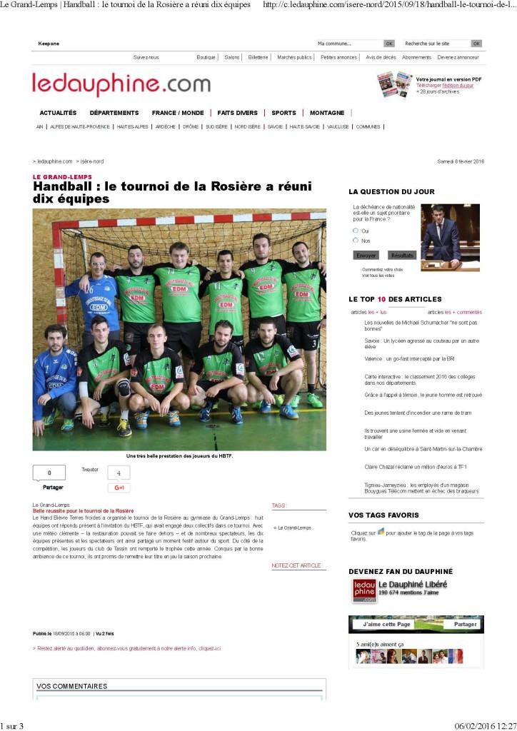 Le Grand-Lemps _ Handball _ le tournoi de la Rosière a réuni dix équipes_Page_1