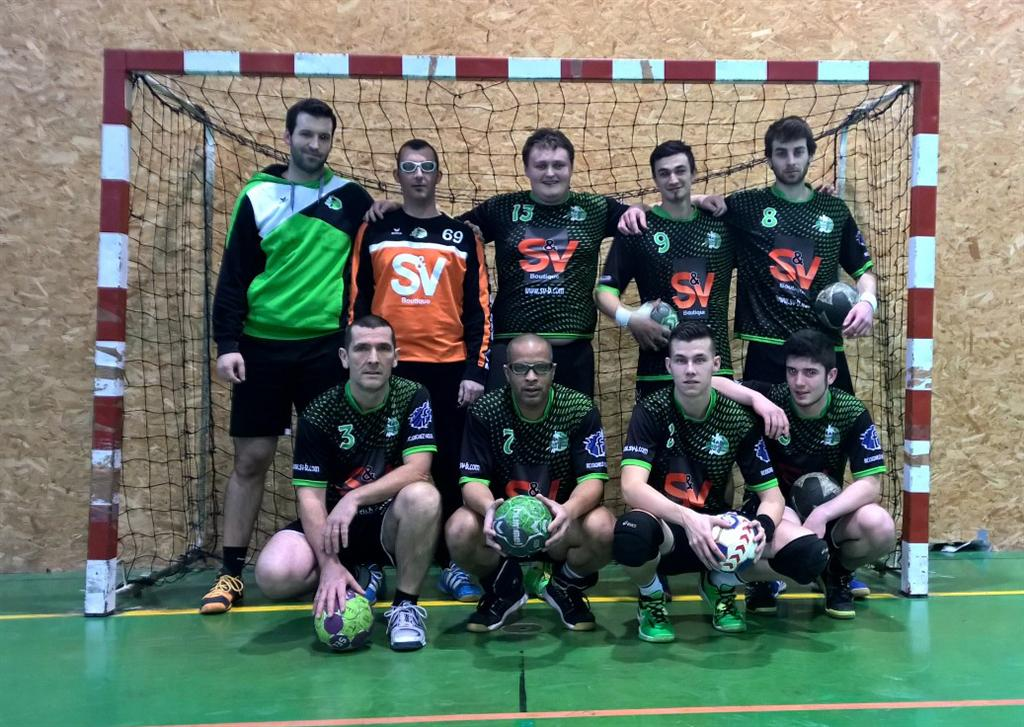 L'équipe Réserve s'impose contre La Mure - Hand Bievre Terres Froides - Club de Handball en Isère