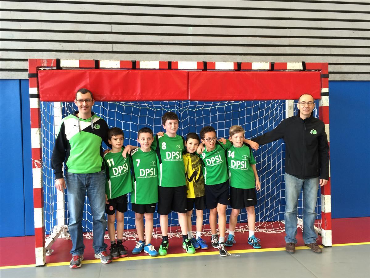 Les -12G continuent sur leur lancée - Hand Bievre Terres Froides - Club de Handball en Isère