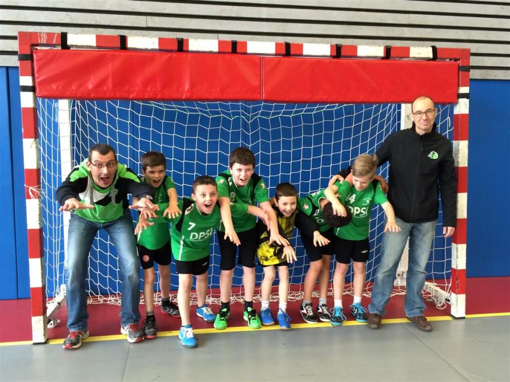 équipe moins de 12 ans garçons HBTF