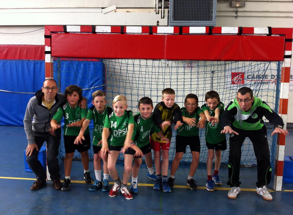 Une belle fin de championnat pour les -12G - Hand Bievre Terres Froides - Club de Handball en Isère