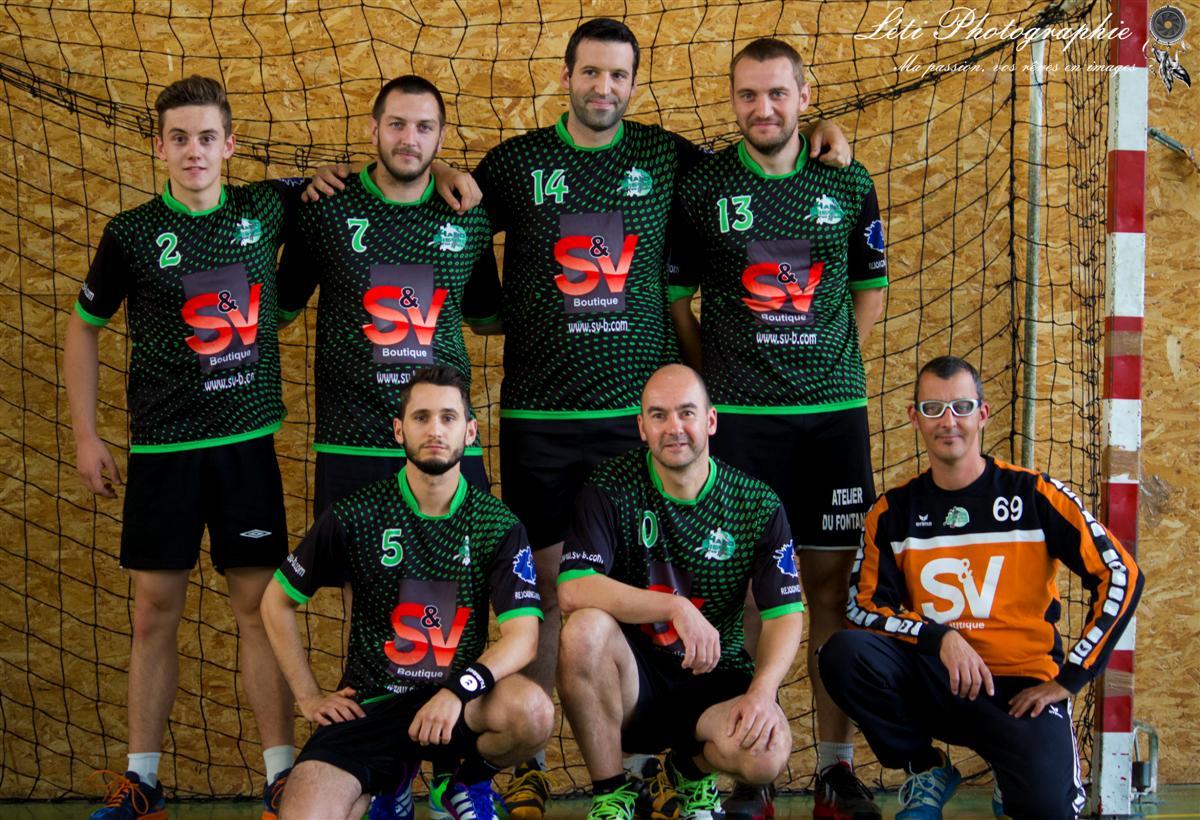 L'équipe reserve s'incline...de peu - Hand Bievre Terres Froides - Club de Handball en Isère