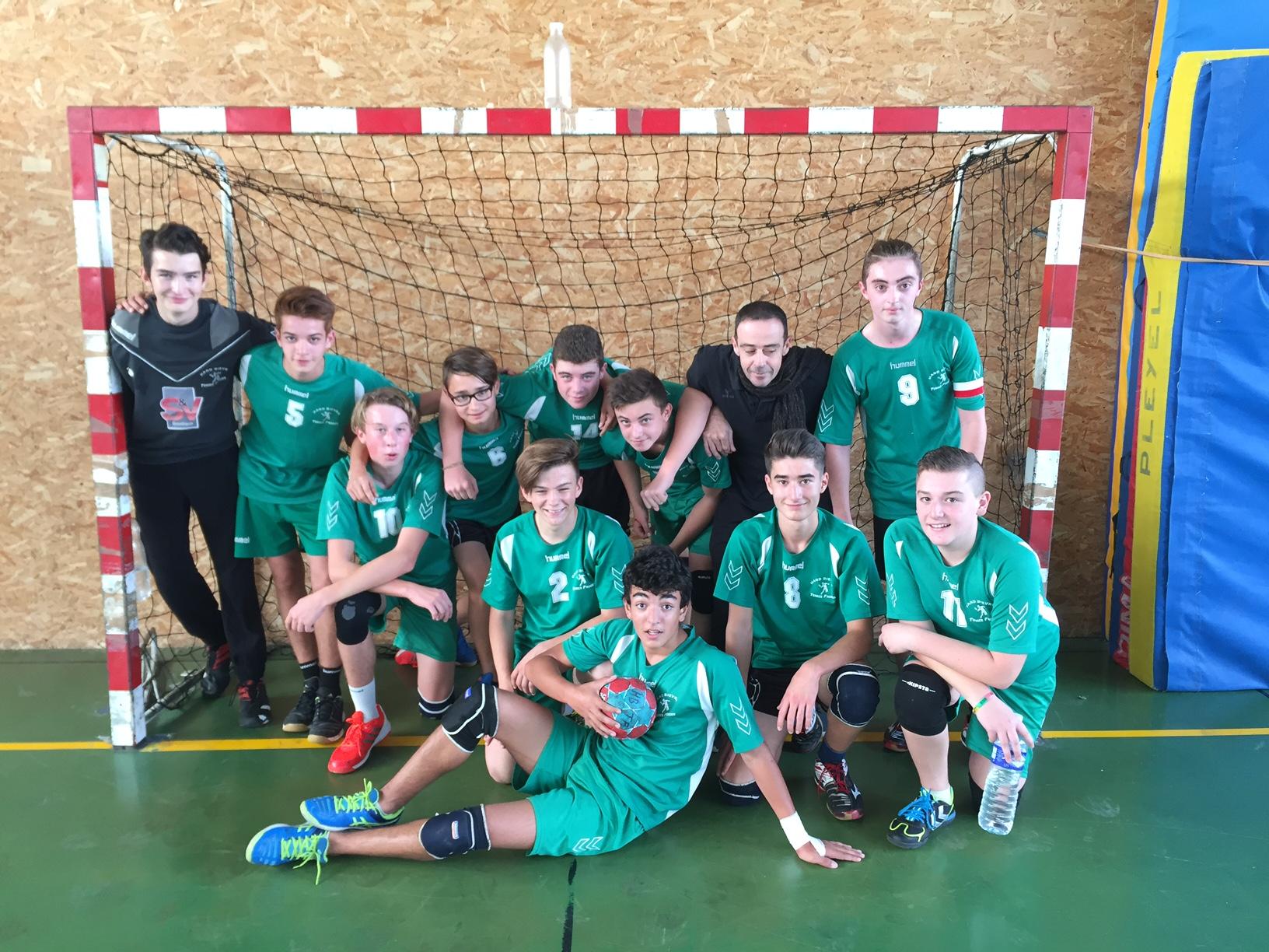 -16Garçons : Et de deux ! - Hand Bievre Terres Froides - Club de Handball en Isère
