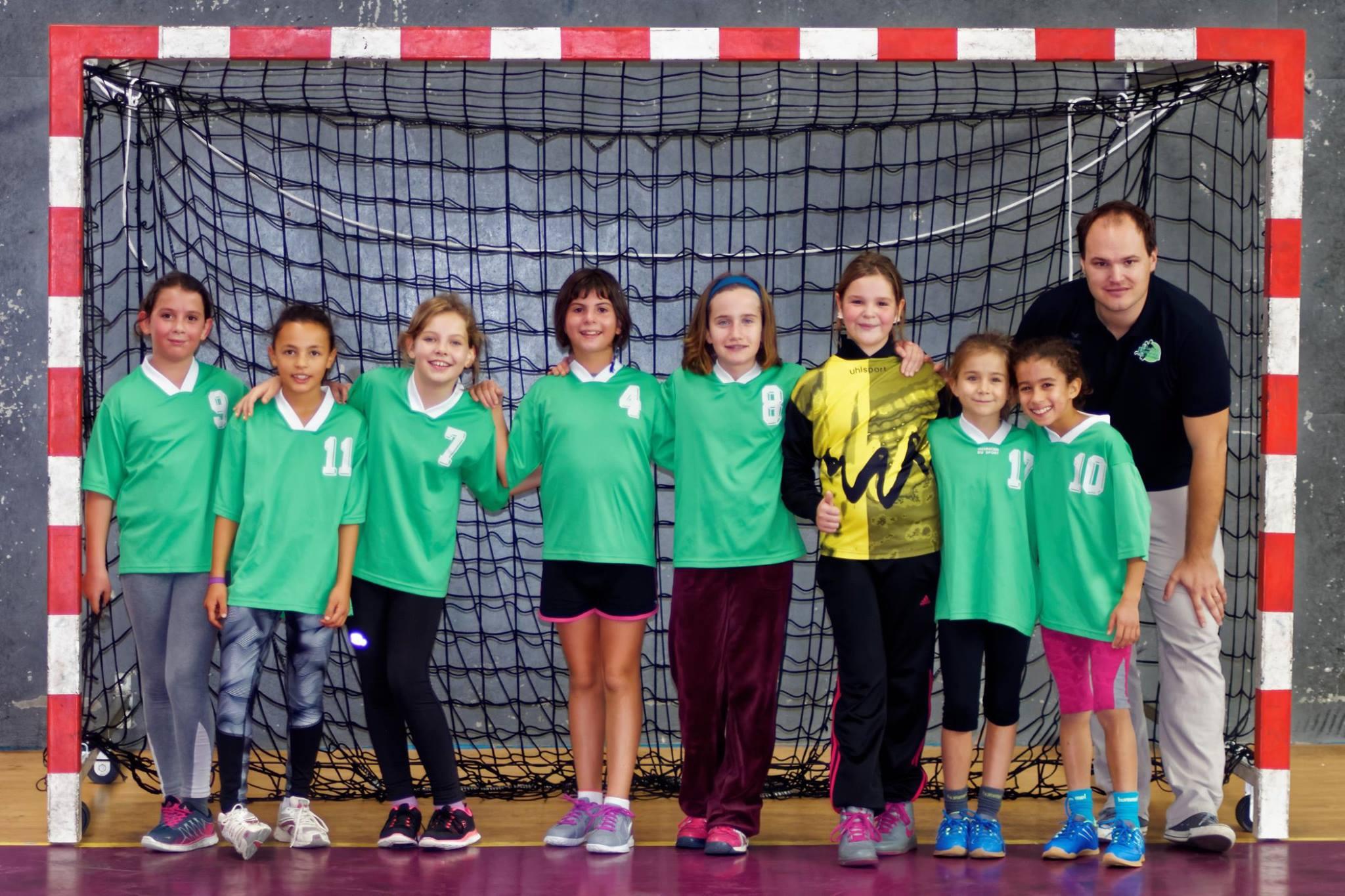 -12 F : L'apprentissage continue ! - Hand Bievre Terres Froides - Club de Handball en Isère