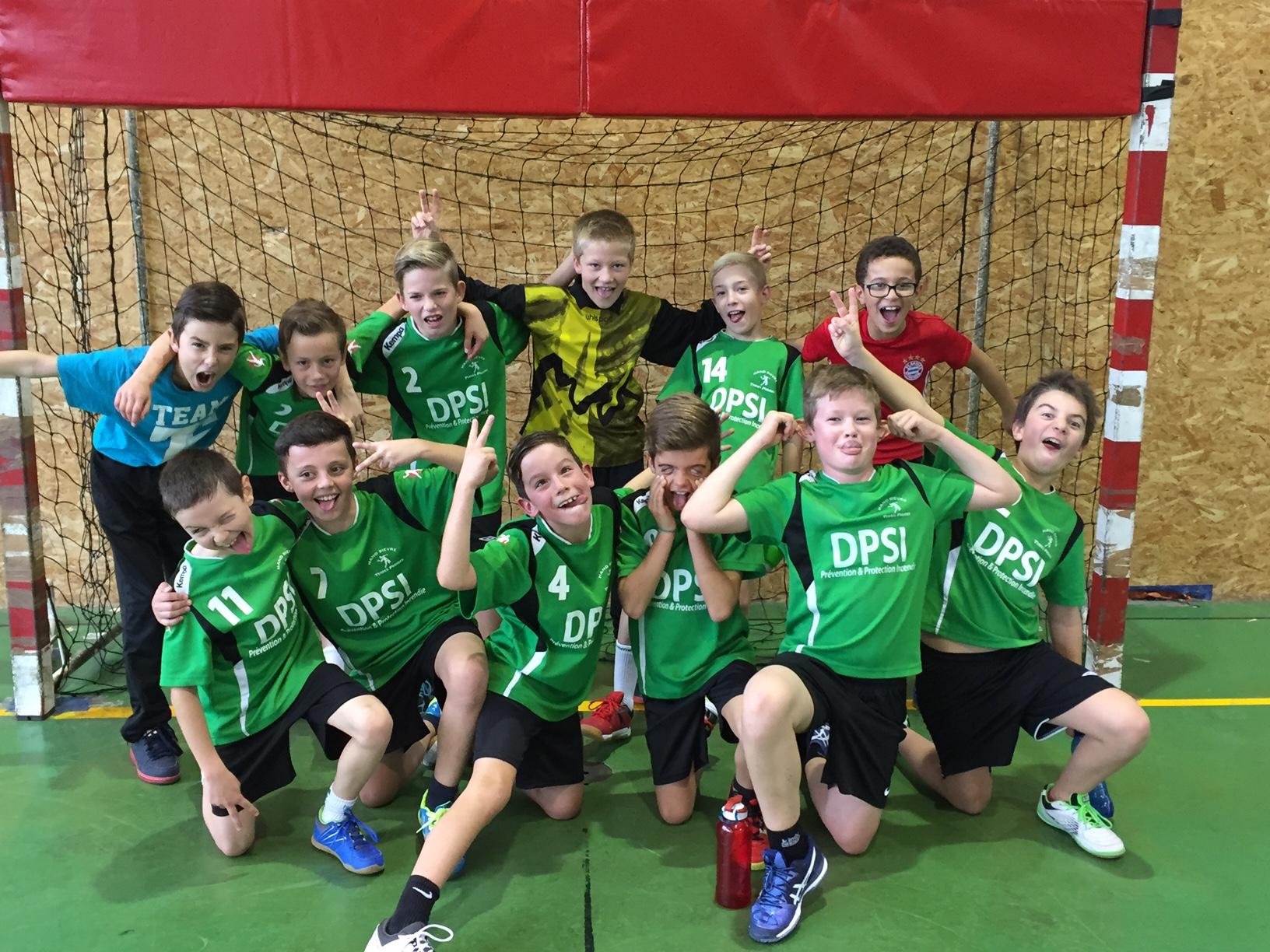 Un bilan positif pour le 1er match des collectifs -12G - Hand Bievre Terres Froides - Club de Handball en Isère