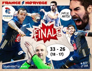 Handball experts chamoins du monde 2017