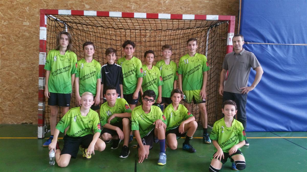 Les -15G s'inclinent à domicile - Hand Bievre Terres Froides - Club de Handball en Isère
