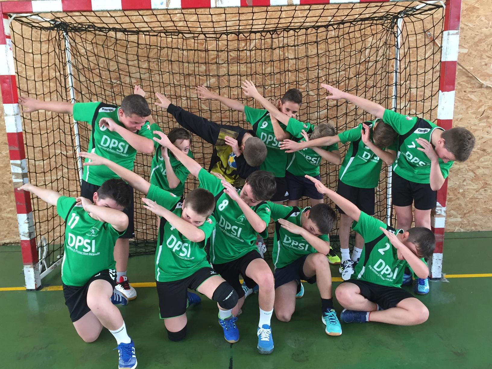 Les -13G s'imposent face à Pays de Valloire 1 - Hand Bievre Terres Froides - Club de Handball en Isère