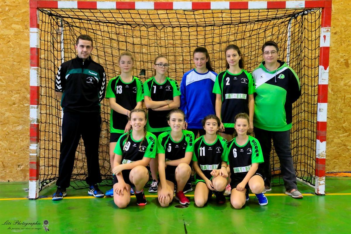 -15 F : De la motivation et des regrets... - Hand Bievre Terres Froides - Club de Handball en Isère