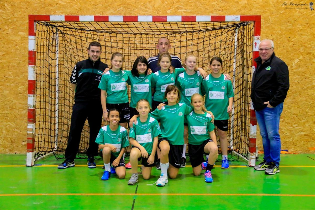 -13 F : L'écart se réduit !! - Hand Bievre Terres Froides - Club de Handball en Isère