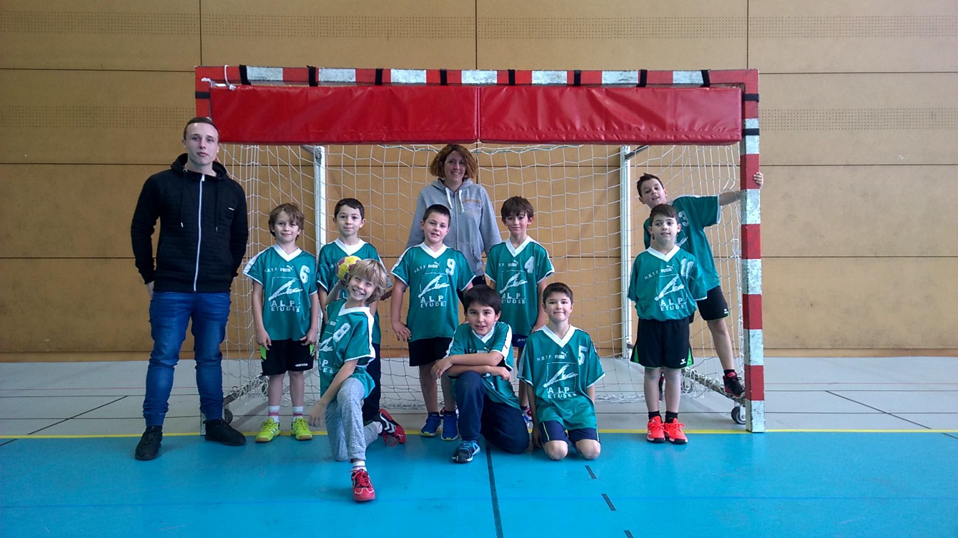 -11 G : De belles promesses ! - Hand Bievre Terres Froides - Club de Handball en Isère
