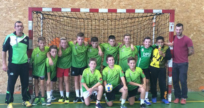Une belle entrée en matière - Hand Bievre Terres Froides - Club de Handball en Isère