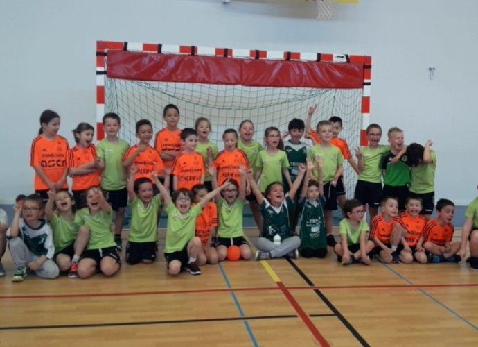 Ecole de hand : La marée Verte is back ! - Hand Bievre Terres Froides - Club de Handball en Isère