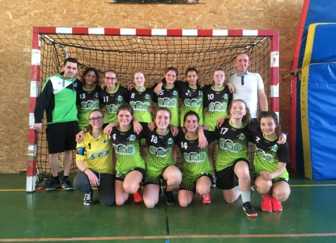 U15 F: Vaincues avec les honneurs.. - Hand Bievre Terres Froides - Club de Handball en Isère