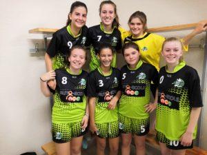 U15F : Un premier succès avec sérieux ! - Hand Bievre Terres Froides - Club de Handball en Isère