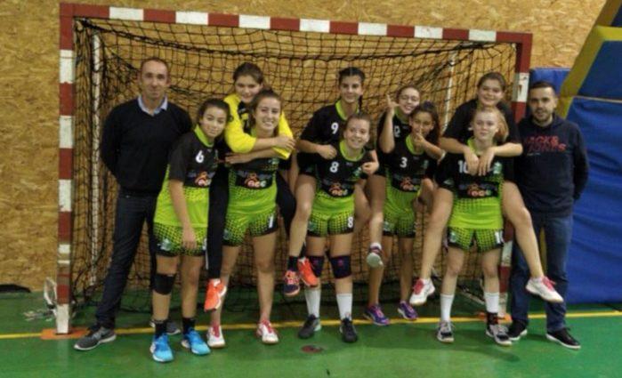 U15F : La victoire d'un collectif ! - Hand Bievre Terres Froides - Club de Handball en Isère