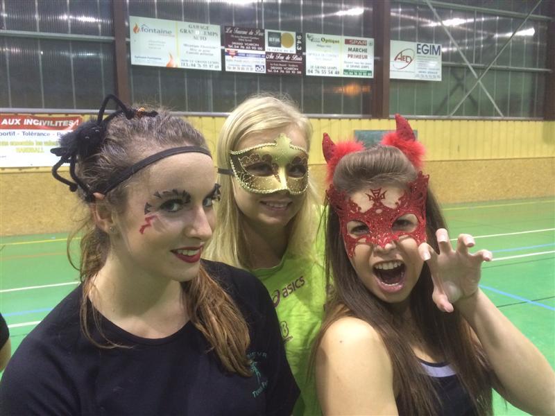 C'est Halloween ! - Hand Bievre Terres Froides - Club de Handball en Isère