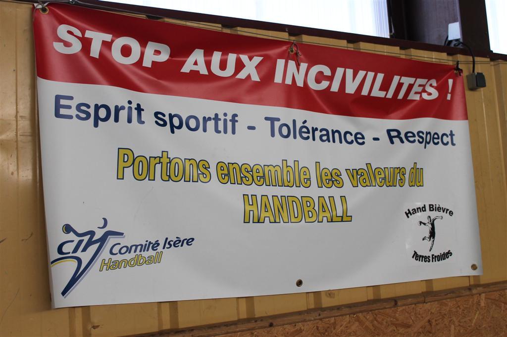 La charte du bon comportement sportif - Hand Bievre Terres Froides - Club de Handball en Isère