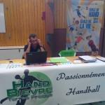Le HBTF au forum des associations d'Apprieu - Hand Bievre Terres Froides - Club de Handball en Isère