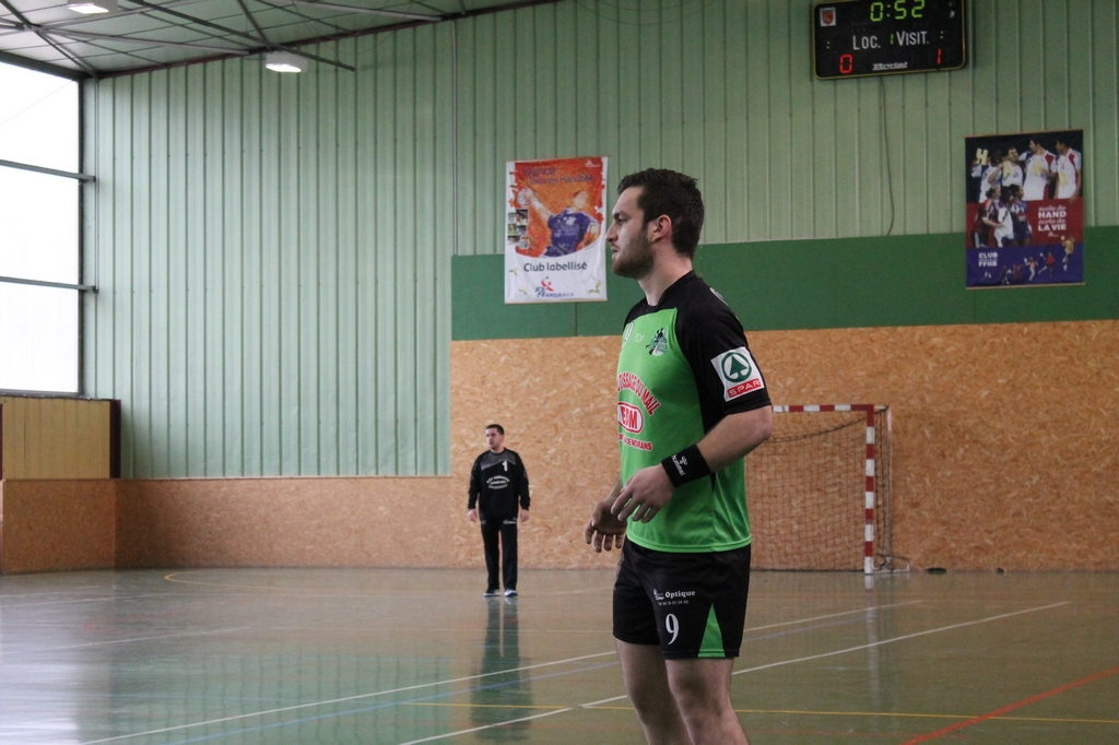 L'équipe Fanion s'incline d'un tout petit but face à Saint Marcellin - Hand Bievre Terres Froides - Club de Handball en Isère