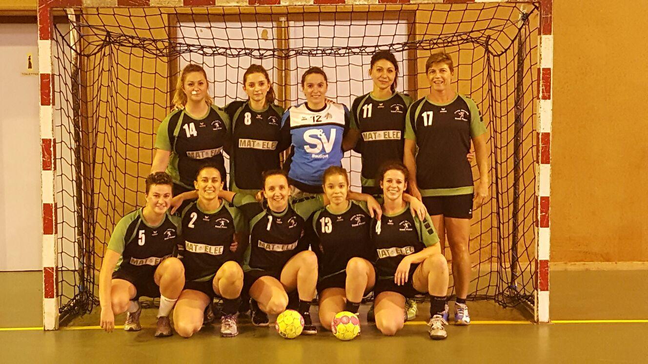 Les Séniors Filles dans la course ! - Hand Bievre Terres Froides - Club de Handball en Isère