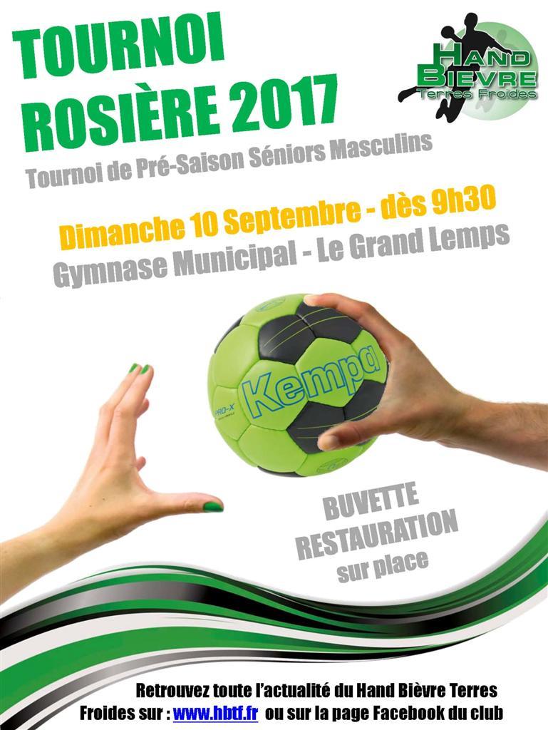 Tournoi de la Rosière 2017 - Hand Bievre Terres Froides - Club de Handball en Isère