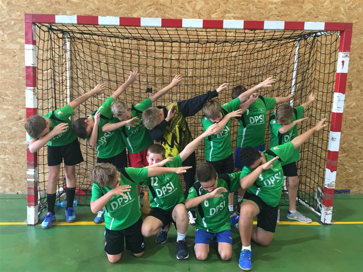 Un joli 1er match pour les -13G - Hand Bievre Terres Froides - Club de Handball en Isère