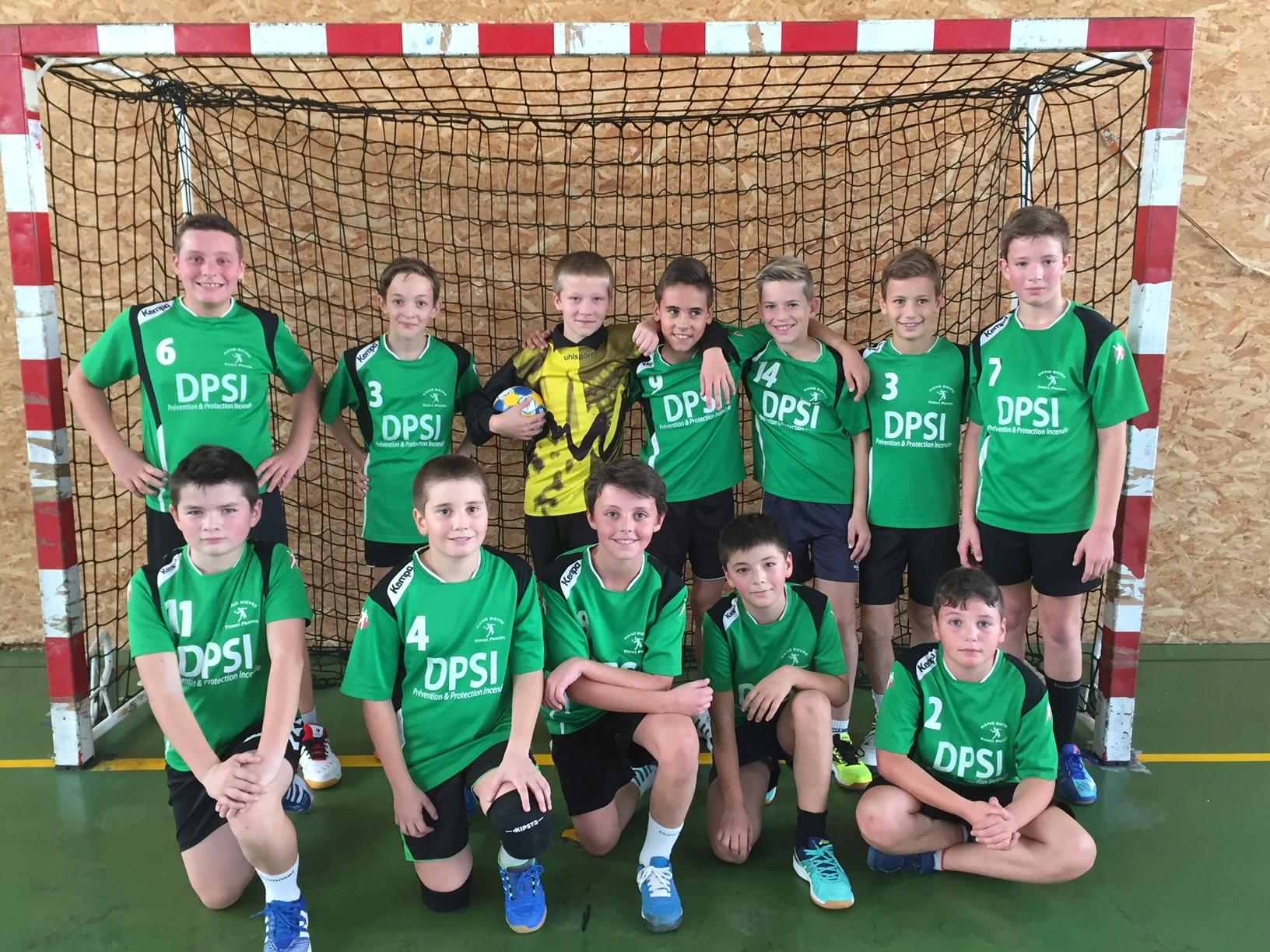Les -13G s'inclinent face à Pays de Valloire - Hand Bievre Terres Froides - Club de Handball en Isère