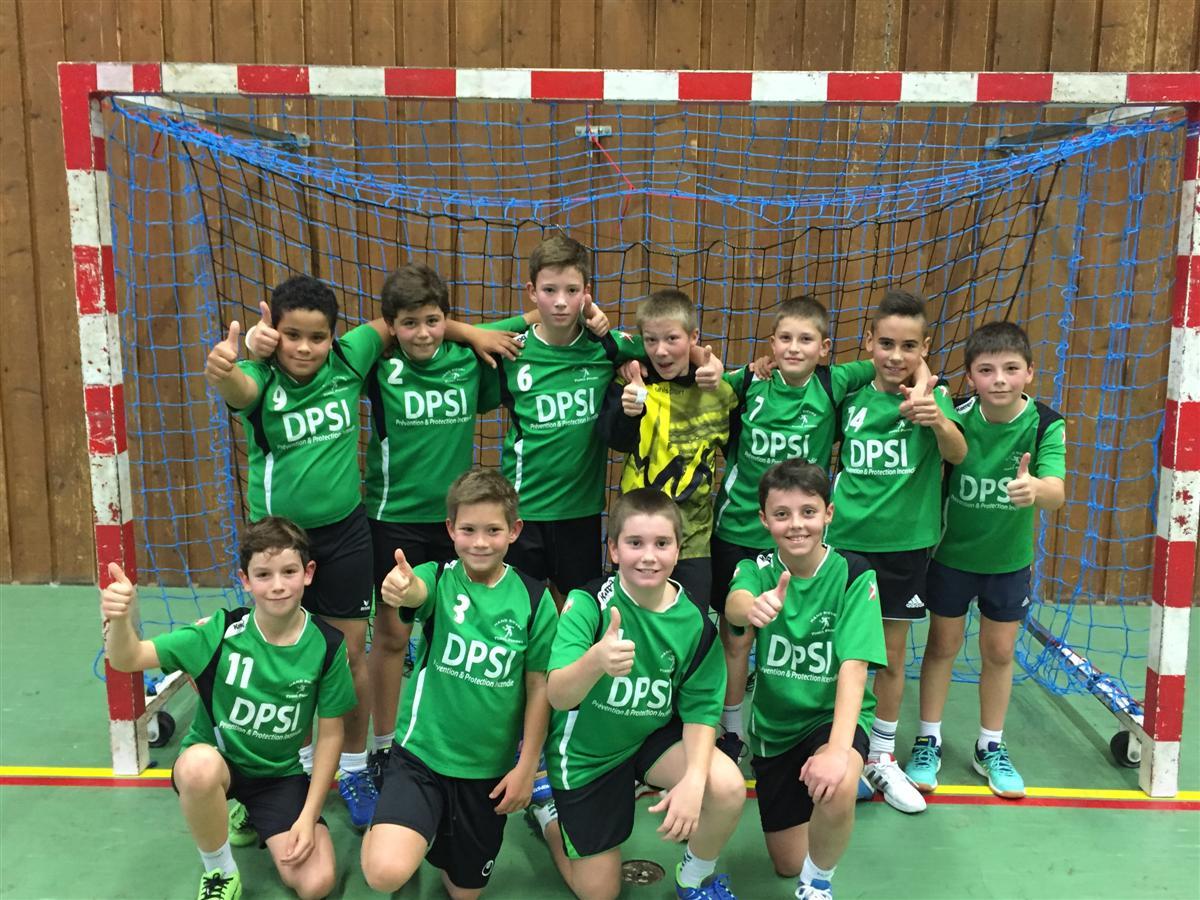 Les -13G continuent sur leur lancée - Hand Bievre Terres Froides - Club de Handball en Isère