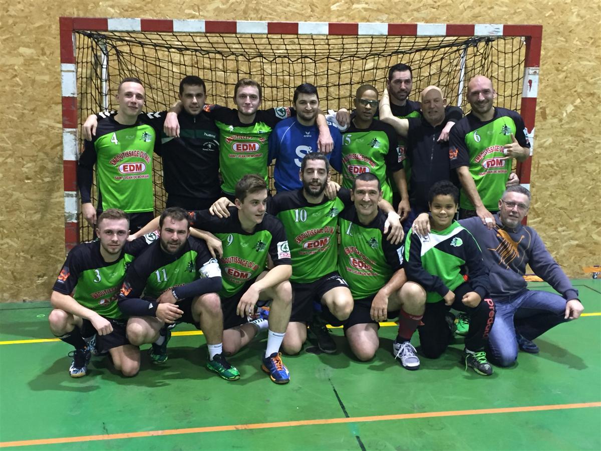 SG : Les Verts ne veulent pas lâcher la 1ère place ! - Hand Bievre Terres Froides - Club de Handball en Isère