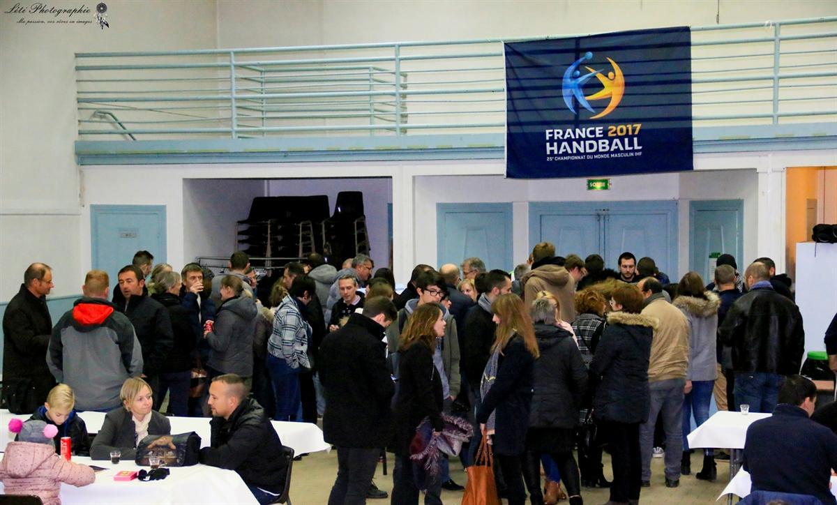 La soirée diots tient ses promesses - Hand Bievre Terres Froides - Club de Handball en Isère