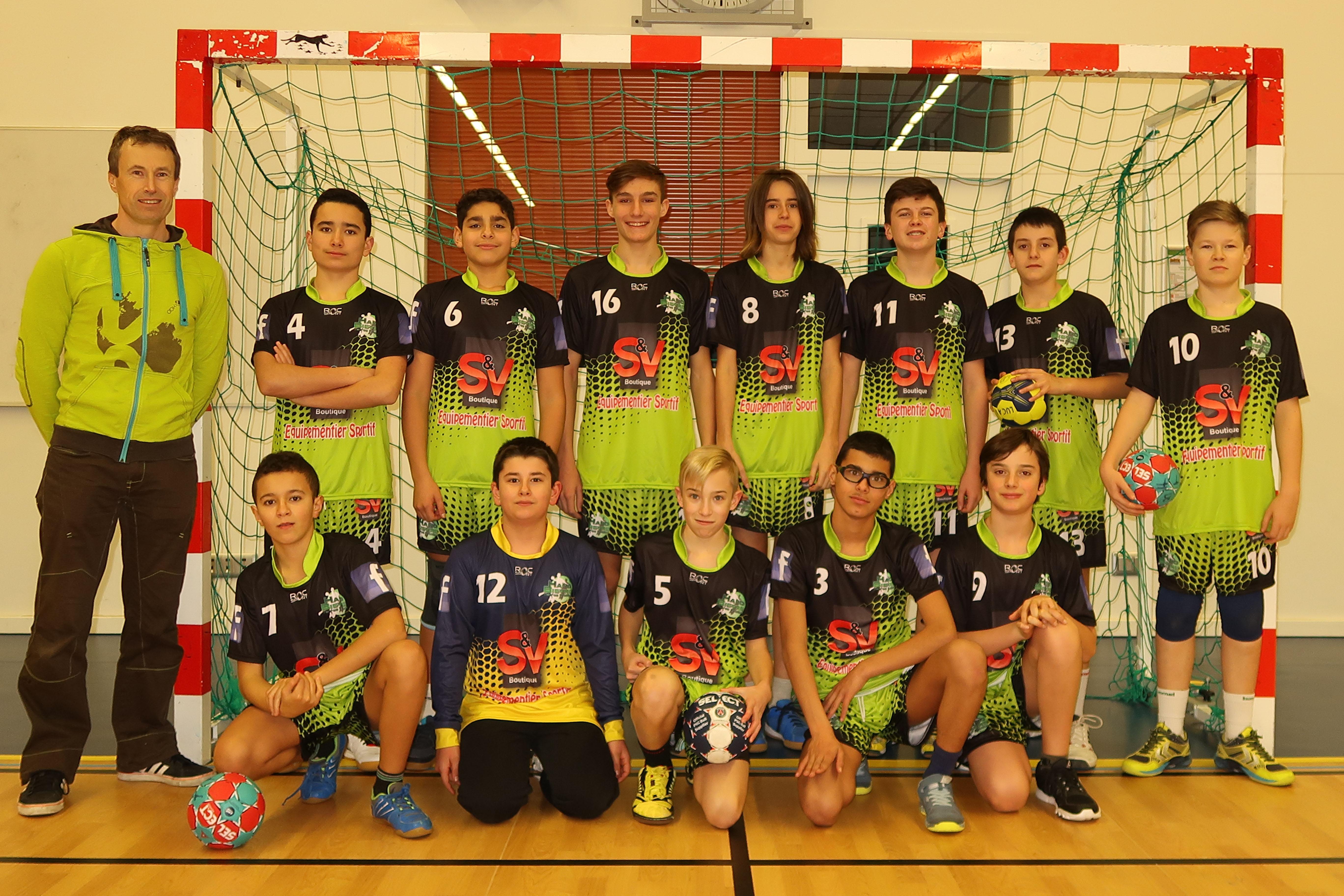 Victoire des -15M contre l'Isle d'Abeau - Hand Bievre Terres Froides - Club de Handball en Isère