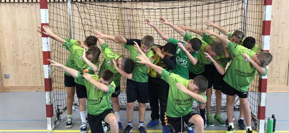 Les M13 au rendez vous - Hand Bievre Terres Froides - Club de Handball en Isère