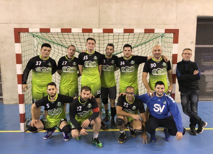 Les verts marquent le pas - Hand Bievre Terres Froides - Club de Handball en Isère