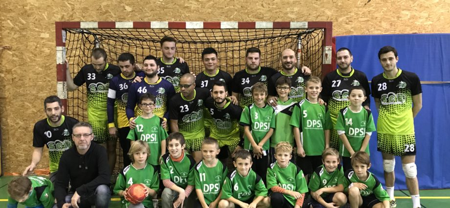 Seniors Masculins : Les Verts n'ont pas tenu.. - Hand Bievre Terres Froides - Club de Handball en Isère