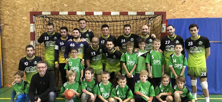 Les séniors masculins se rassurent - Hand Bievre Terres Froides - Club de Handball en Isère